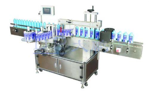 红酒果汁贴标机圆瓶双侧面贴标机DP6126