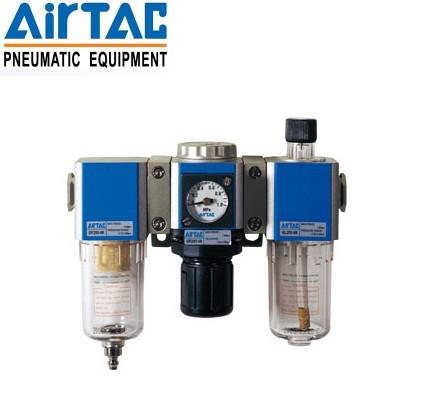 亚德客三联件,调压过滤器,油雾器GC600-25