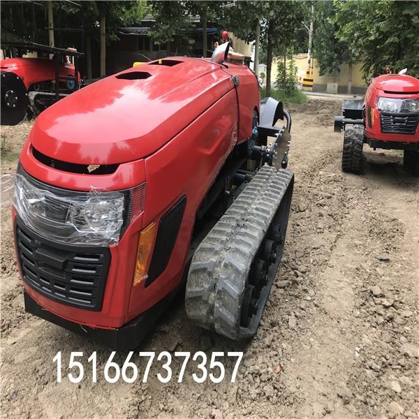 履带开沟施肥机田园管理机小型农用旋耕机