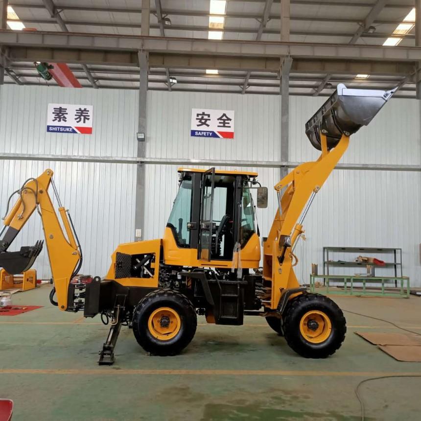 前铲后挖一机多用两头忙,工程施工省时省力