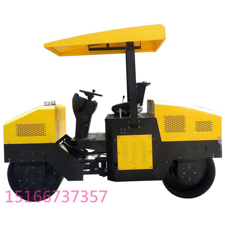 供应小型压路机 3吨全液压双钢轮压路机 震动钢轮压路机