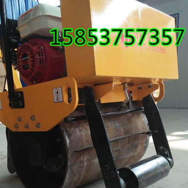手扶式单轮压路机激振力1.8吨的振动单轮压实机修路好帮手