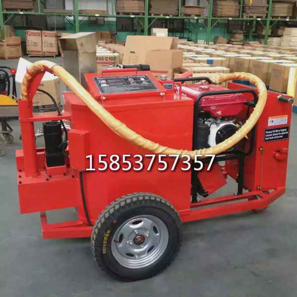 牵引式200L的沥青胶灌封机进口发动机的路面补缝机