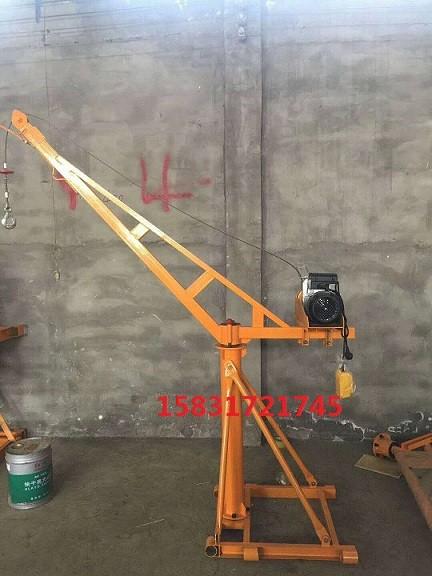 1吨室内外小吊机多功能提升机建筑装饰装修砂石料吊运机
