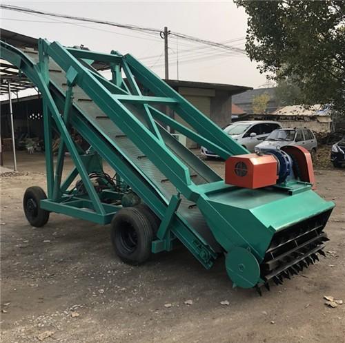 干青草料装取机  移动自走式青贮取料机