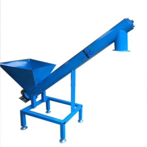 不锈钢粉煤灰U型管式螺旋输送机 无轴螺旋上料机