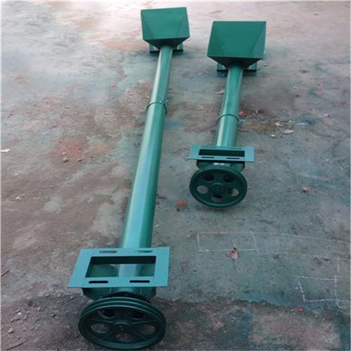 倾斜角度化工原料螺旋输送机 电动绞龙上料机