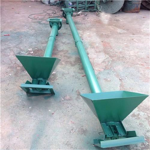 移动升降纸浆输送机 不锈钢管式螺旋输送机