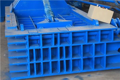 卧式废品垃圾废纸箱液压打包机 塑料膜饮料瓶压包机