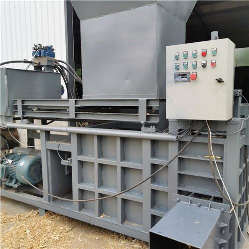 方捆液压型青贮秸秆包装机 卧式液压打包机