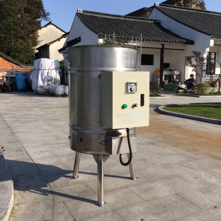 华诚304不锈钢蒸汽盘管型开水桶双层保温