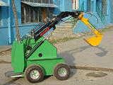 小型滑移挖掘机
