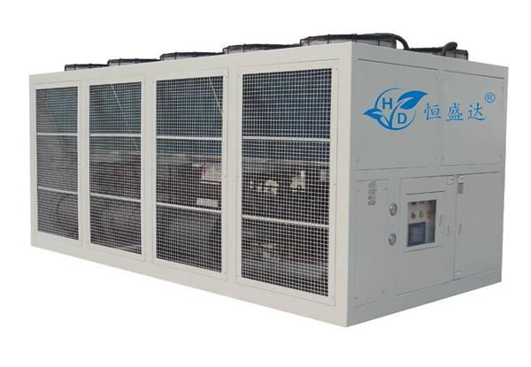 深圳大型风冷螺杆冷水机HSD-50A