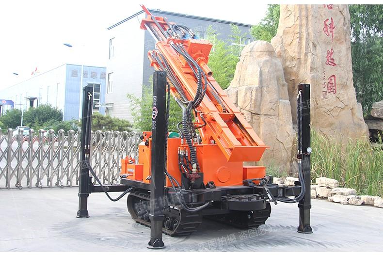 气动水井钻机 高支腿打井机厂家 快速打井设备 履带打井机
