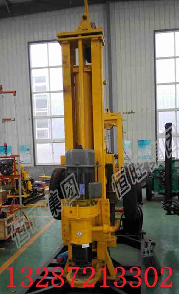 HQZ200气动钻机  小型气动钻井机   轮式气动钻机