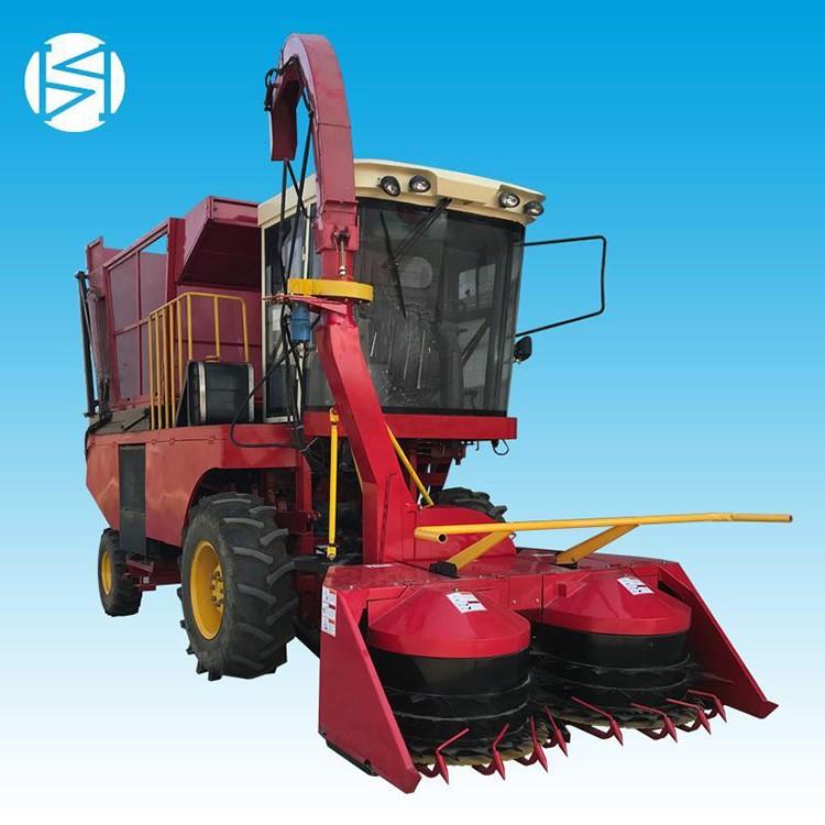 新民2.3米自走式玉米青贮收割一体机犇牛大型新款青储机批发
