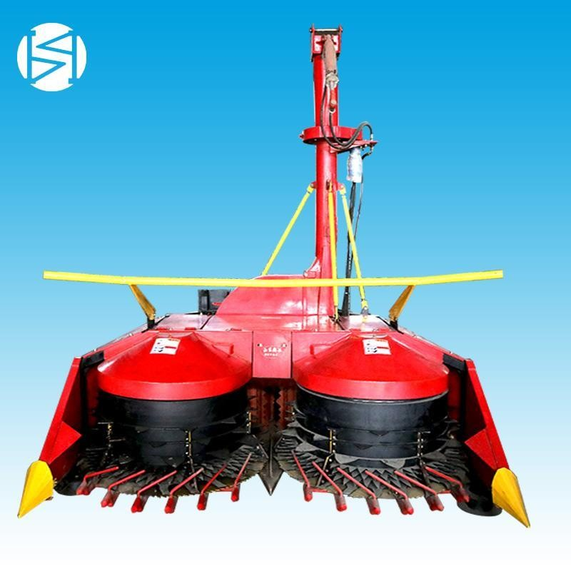 新款2.6米大型悬挂式黑麦草青储机双圆盘青贮机厂家直销