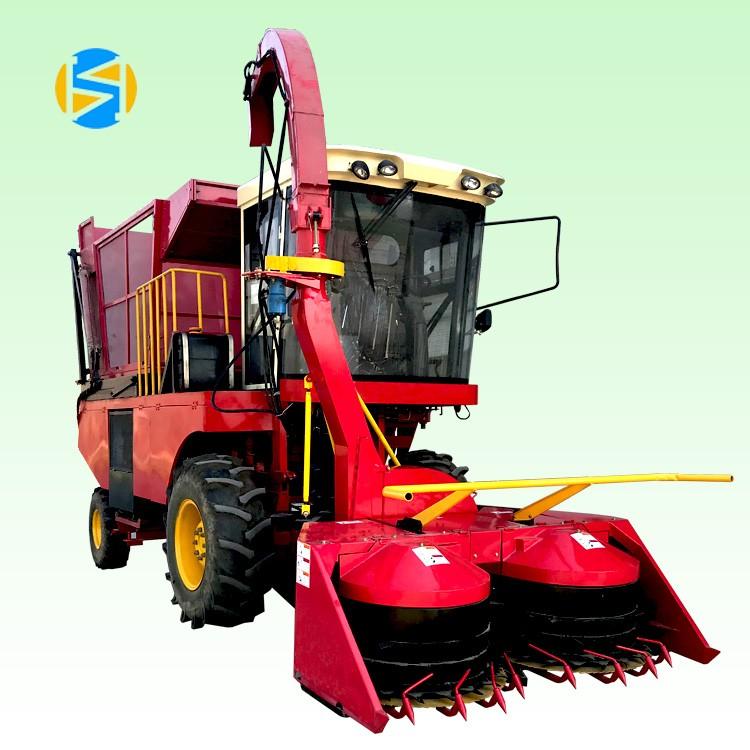 黑龙江大型高效率玉米收割青贮一体机 犇牛多功能玉米青贮机