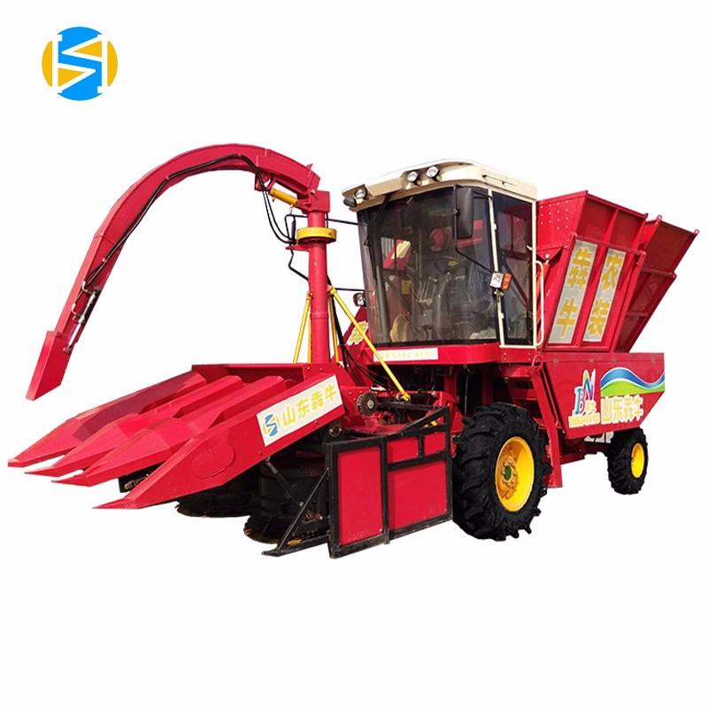 内蒙古大型自走式青饲料收获机犇牛2.3米玉米青饲料收获机生产厂家