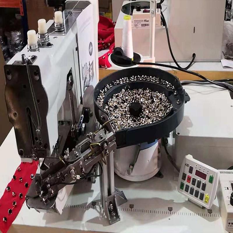 快工牌 4-2 立扣自动钉扣机 蘑菇扣 打扣机 电动缝纫机厂家直销