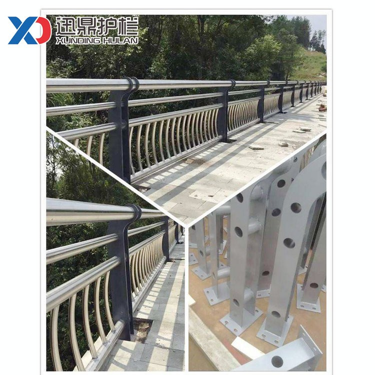 Q235钢制道路隔离护栏|道路隔离护栏多少钱一米