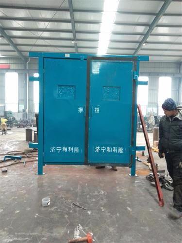 矿用手动无压风门安装ZMK风门控制系统实现自动开关