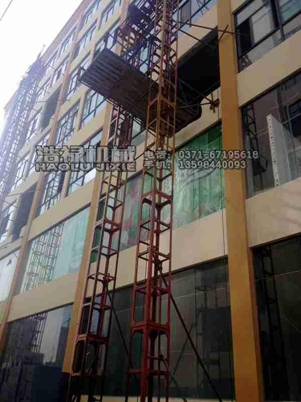 太原建筑用全自动高空上料提升龙门架生产厂家