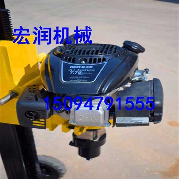生产便携式取样打孔钻机 地质浅层勘探取芯钻机厂家直销