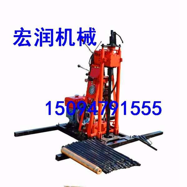 HR-50山地钻机适用于各种环境便携式取芯勘探回转式汽油机山地轻型钻机