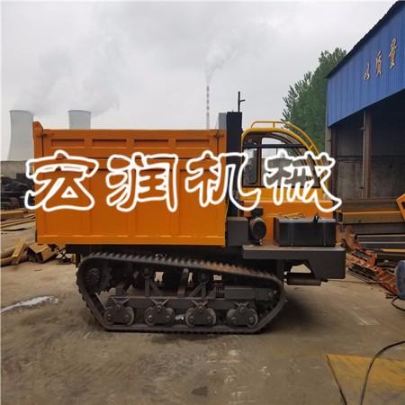 覆带式运输车 山地木材钢制履带运输车