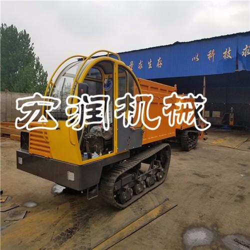 厂家直销5吨钢制履带运输车   农林果园运输