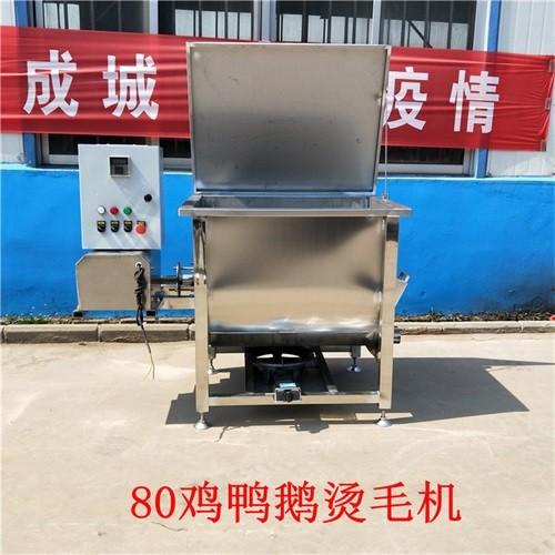 宏强HQ-JTC80型鸡鸭鹅电气两用烫毛机