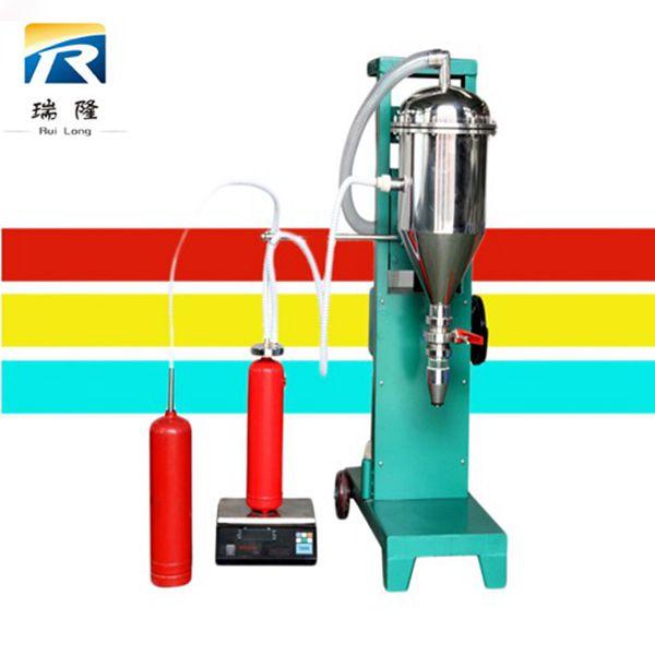 全自动干粉灌装生产线三合一操作