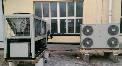低温环境风冷热泵机组-北方专用热泵空调机组