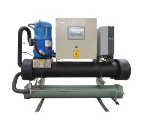 水冷变频式冷水机-变频式中央空调