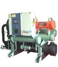 热H收水冷螺杆式冷凝机组-冷冻冷蔵设备-冷库保鲜机组
