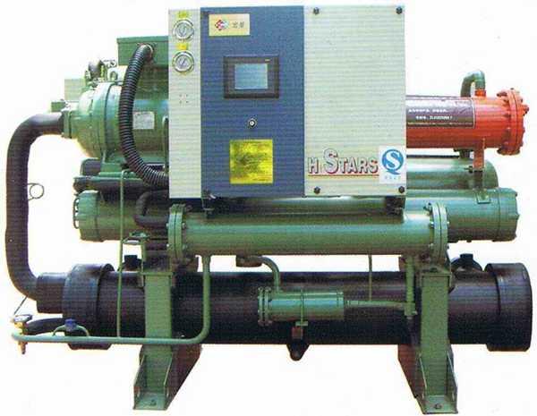 热H收水冷螺杆式低温冷水机-化工冷冻机-氯化钙冷水机