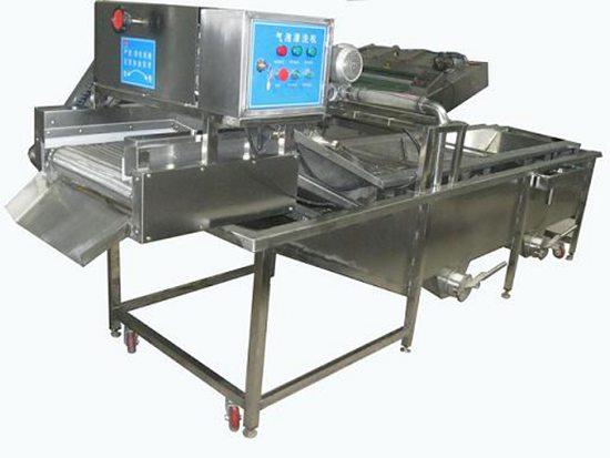 山东青岛生产专业清洗机,水果清洗机