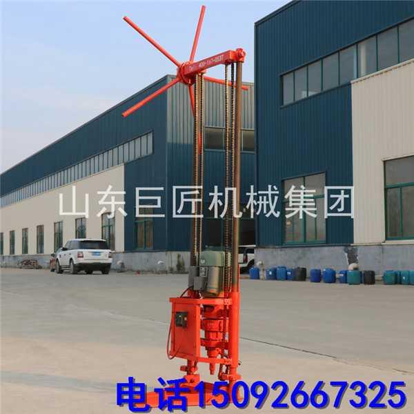 华巨QZ-1A型两相电取样钻机 浅层取样地质勘探钻机 便携式钻探机