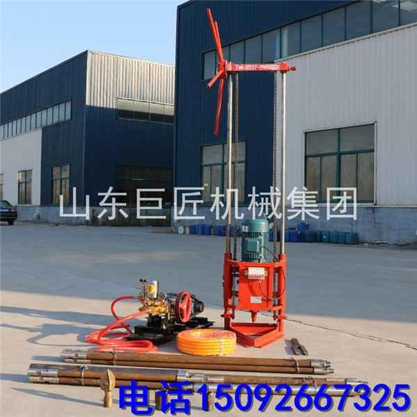 厂家直供便携式QZ-1B 岩心取样地质钻探机 配件 地质 地质勘探钻机