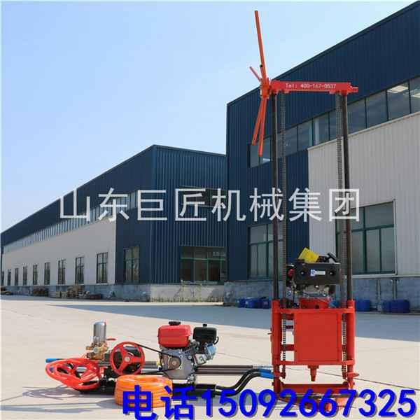 厂家直供地质勘探钻机 QZ-2B轻便取样钻机 小型 家用 工程地质钻机