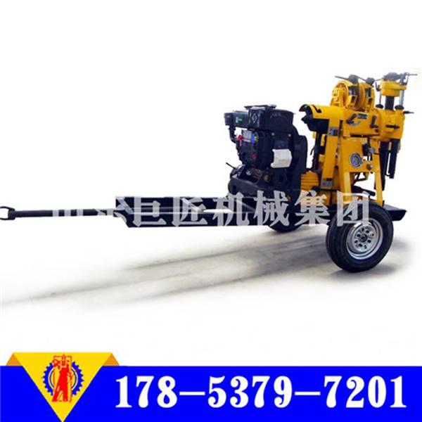 XYX-180型轮式液压打井机小型液压打井机