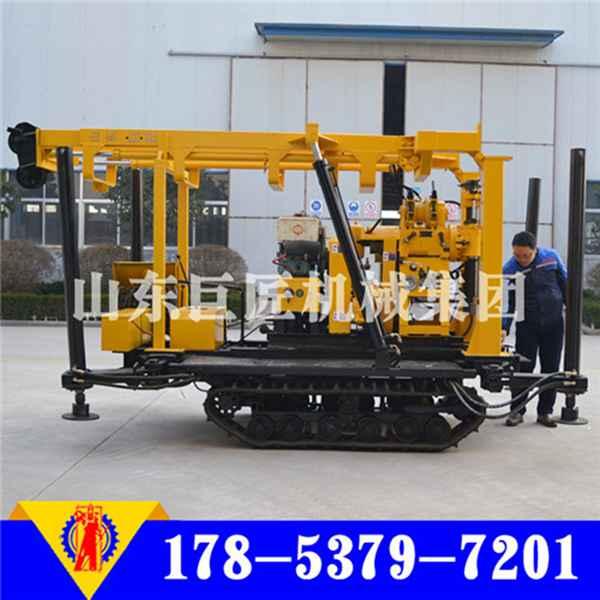 XYD-180型履带式打井机价格180米液压钻井机图片