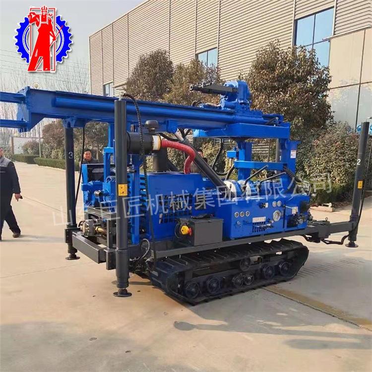 JDL-280机械式顶驱水气两用钻机 履带地质勘探钻机