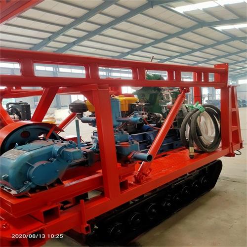 钻塔式240型文登移机勘探钻机 绳索取芯双管钻机