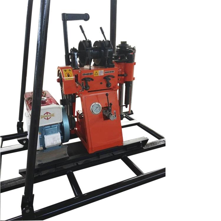 步履式长沙150型探矿钻机 工业矿山小型取水钻机