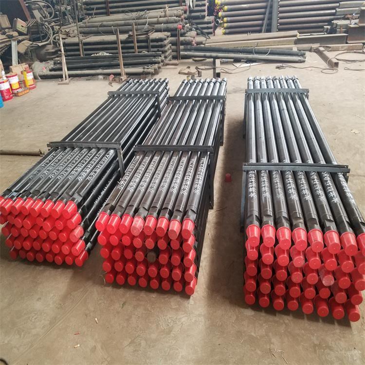 高强耐磨89摩擦钻杆 钻机配套钻杆品牌性能