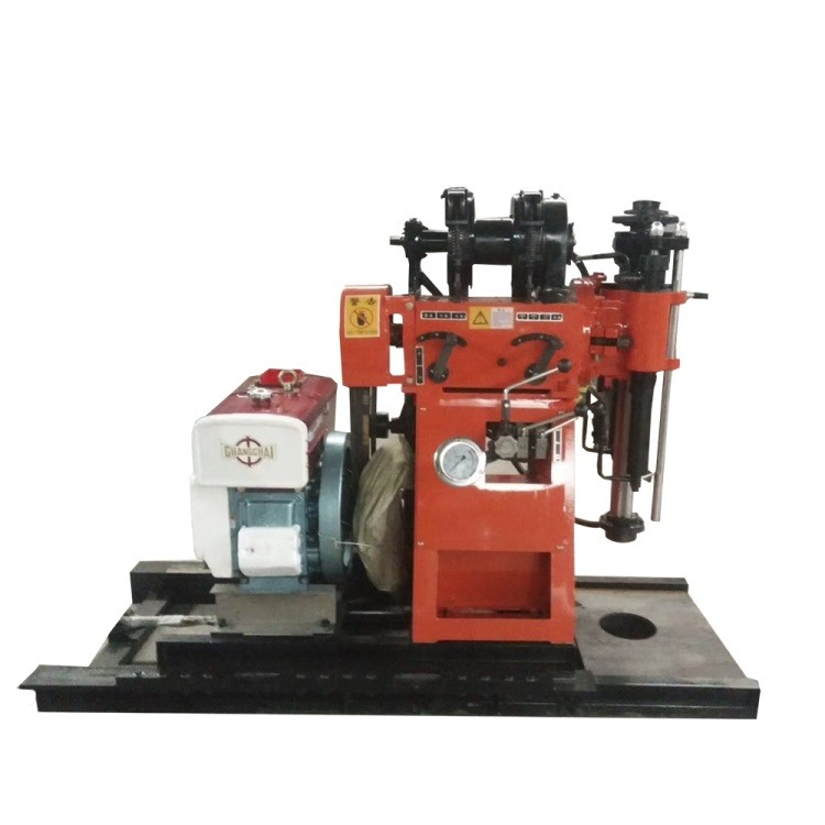建筑地基勘查钻机 GY-150B履带岩心钻机带绞车价格