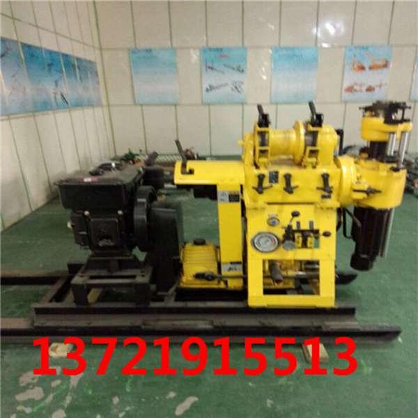 柴油液压水钻HW-160水井钻机小型打井机家用水井钻机