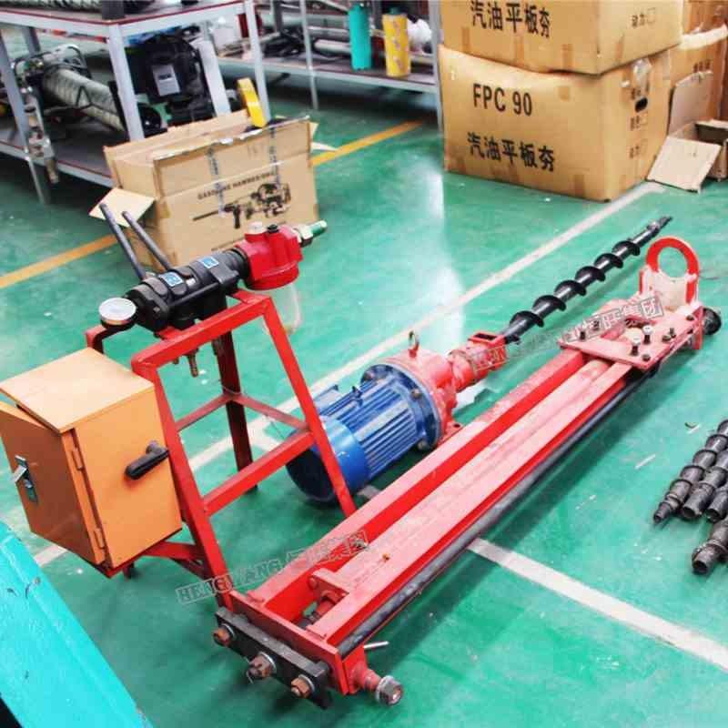 气动潜孔钻机 YQ100型气动潜孔钻机 便携式风动潜孔钻机